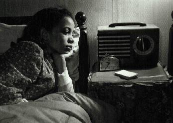 black-radio-listener