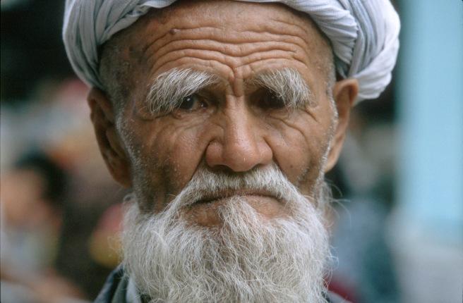 Portrait of an Uzbek Man