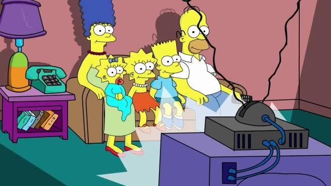 simpsons-watching-tv